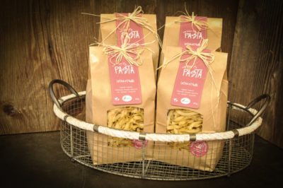 Härzbluet Pasta Chischtli mit Teigwaren